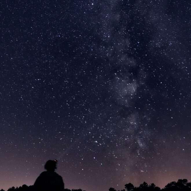 Vallon de la chambre au loup et sa voie Lactée