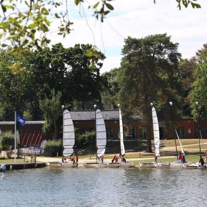 Activités voile Lac de Trémelin
