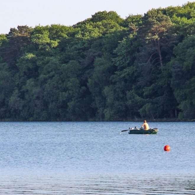 Pêche sur le Lac de Trémelin