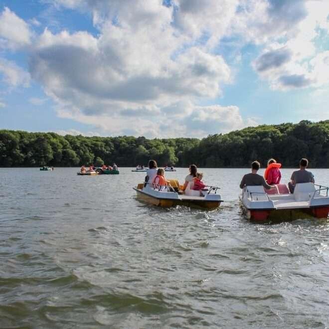 Activités de groupe - Lac de Trémelin