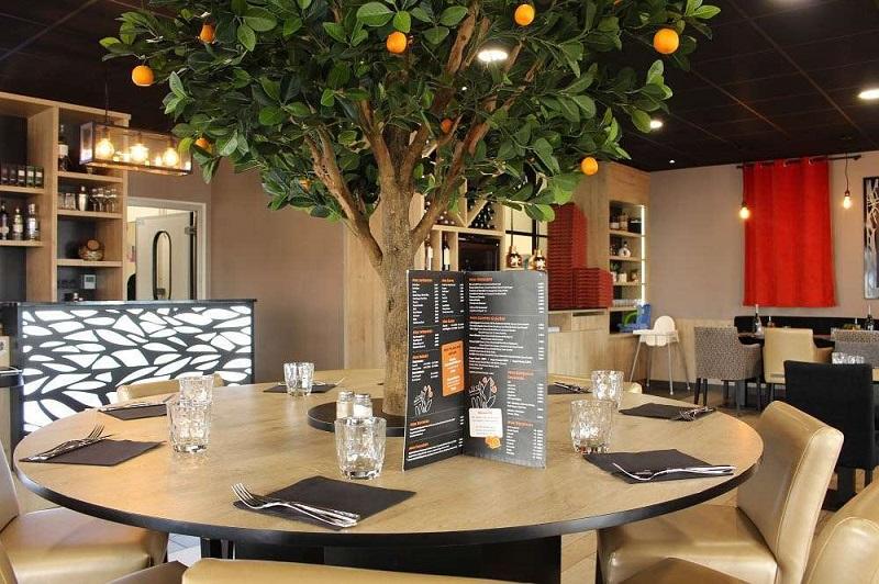 La Villa Arancia - Pizzeria - brochure restaurants
