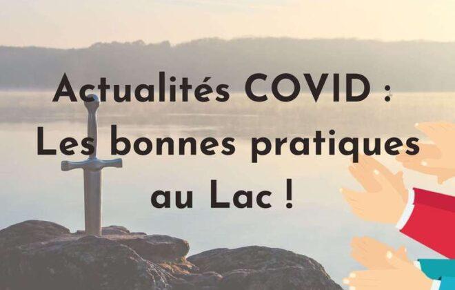 Actualités Covid Lac de Tremelin